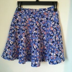 Heart & Arrow Girl's Floral Skirt Size L 12